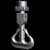 Ramshorn hook with Eye /-suspension